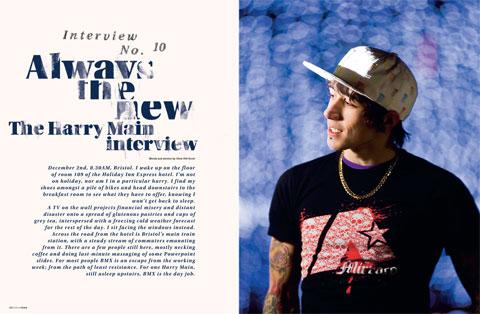 Harry Main Interview