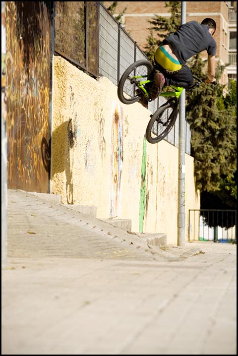 Tom Forster - Wallride gap
