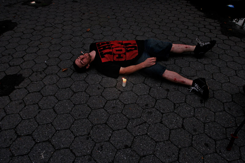 Rory was pretty fascinated by this candle that he found on the ground in Astoria, Queens and Keith proceeded to take photos of him in a variety of positions with it. I don't really remember why.