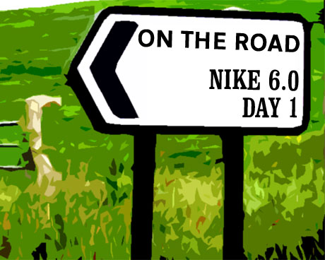 On the road: Nike 6.0 Day 1