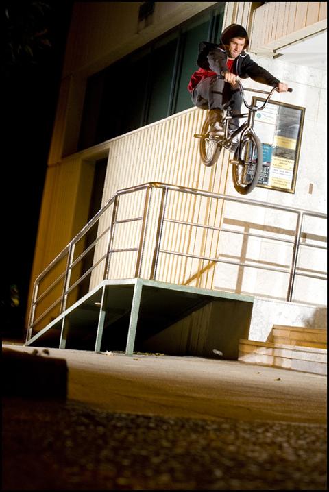 Tom Sanders - Access rail leap