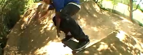 Skateboarders wrecking trails...