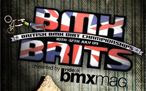 The 2009 Dirt BMX BRITS!