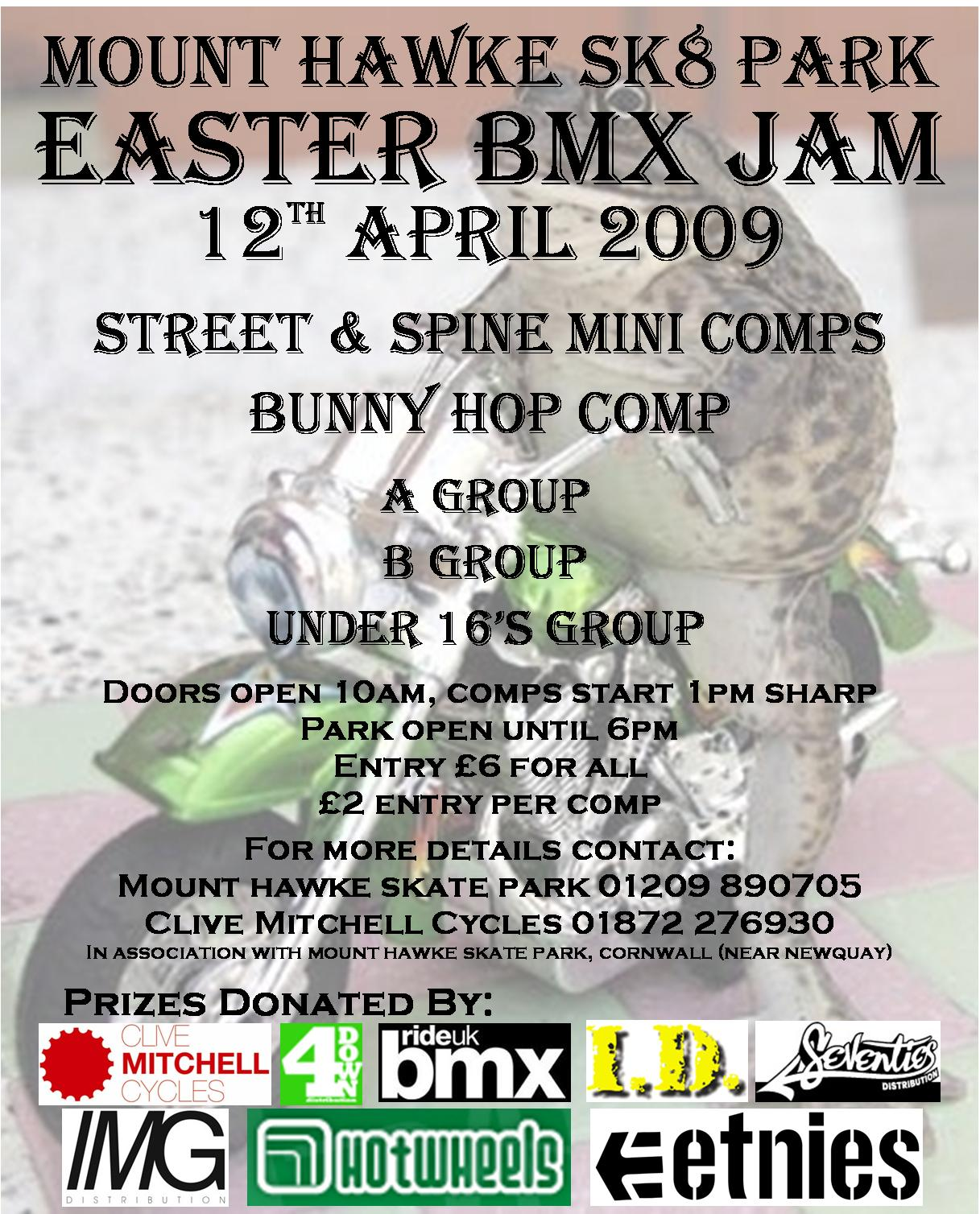 Mount Hawke Easter Jam