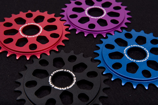 Primo Analogue Sprocket in Anodised Red, Blue, Purple and Black RRP £34.99