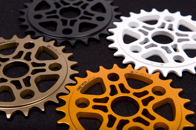 Primo Tony Neyer Signature Sprocket in Anodised Brown, Orange, Black and White RRP £44.99