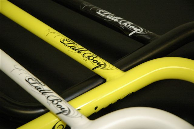 Primo Tall Boy Bars in White, Yellow or Matt Black 8.25