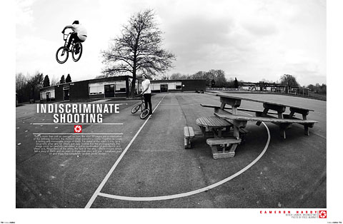 Indiscriminate Shooting: A random selection from the worlds greatest BMX photographers