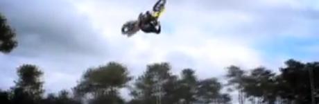 Motocross frontflip...