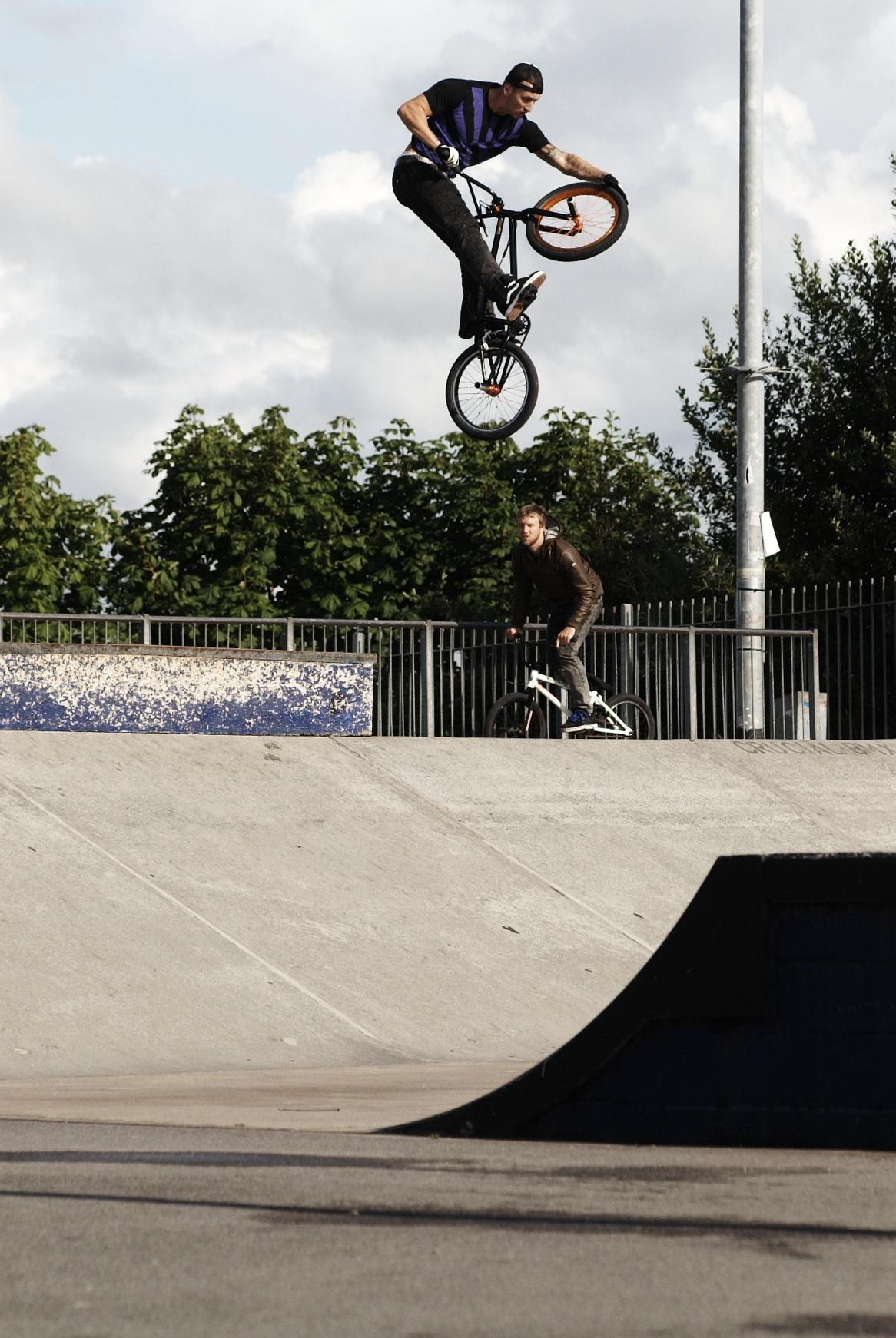 Ben Hennon at Hengrove, Bristol