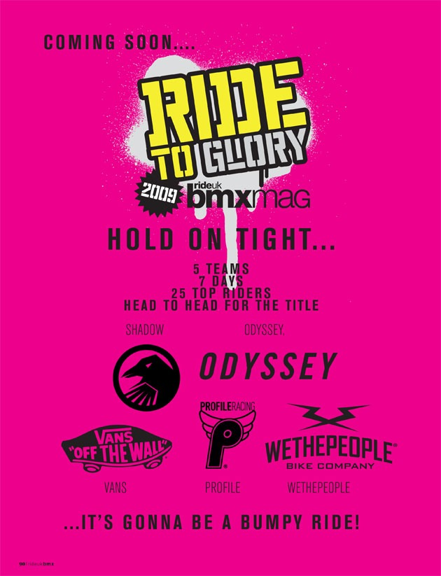 Ride to Glory 2009