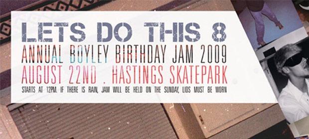Boyley Jam – Hastings