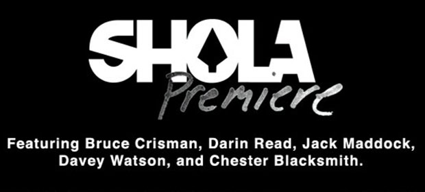 Shola Premiere This Saturday @ Brass Monkey