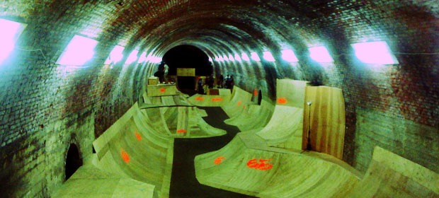 What went on at the Tunnel Jam?