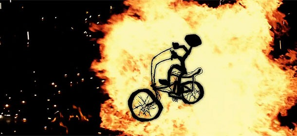 FBM - I Love My Bicycle Trailer