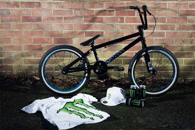 Stereo Bikes/Monster Energy package
