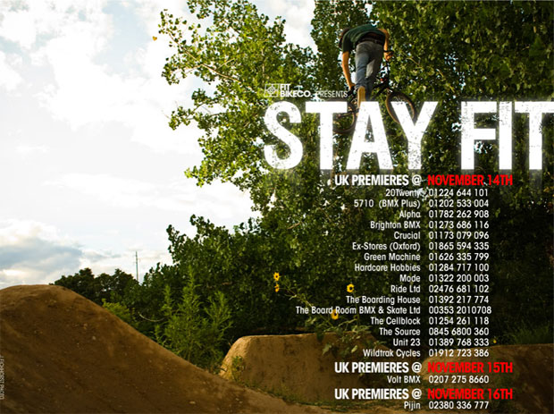 STAY FIT – UK Premiers