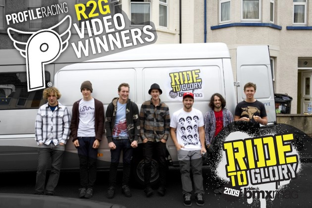 Ride 2 Glory video votes now in!