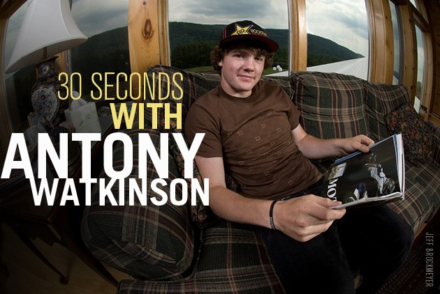 30 Seconds: Catch up with Anthony Watkinson