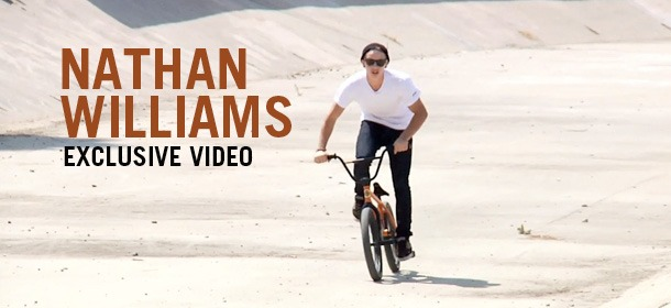 Nathan WIlliams - Exclusive video