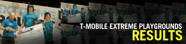Harry Main, winner at the T-mobile Extreme Playgrounds