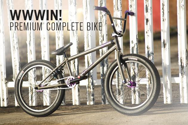 WWWIN: A Premium Garrett Complete Bike