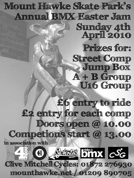 The Mount Hawke Annual BMX Easter Jam