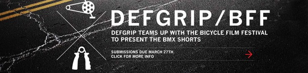 Defgrip and the Bicycle Film Festival