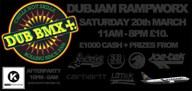 DUB BMX Rampworx Jam