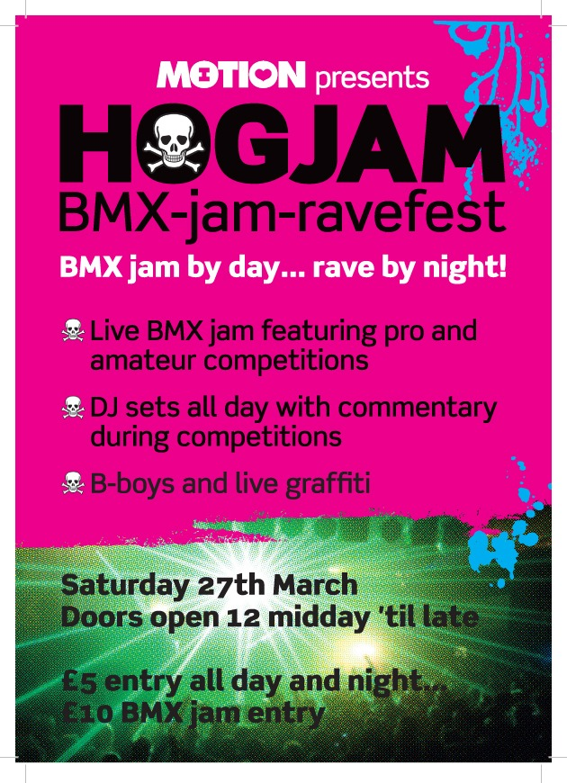 HOGJAM BMX-Jam-Ravefest