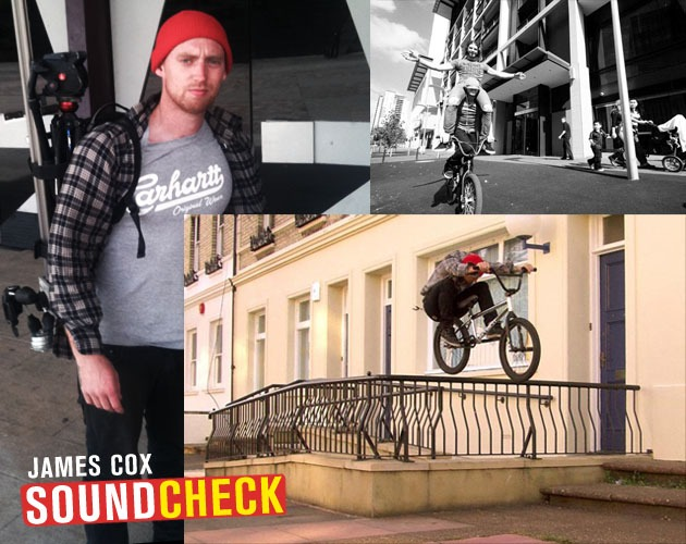 Soundcheck: James Cox