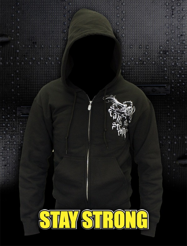 Stay Strong hoodie giveaway