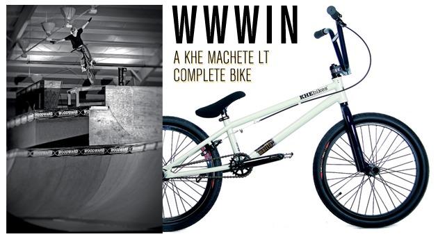 WWWIN: A KHE Machete Lt Complete Bike