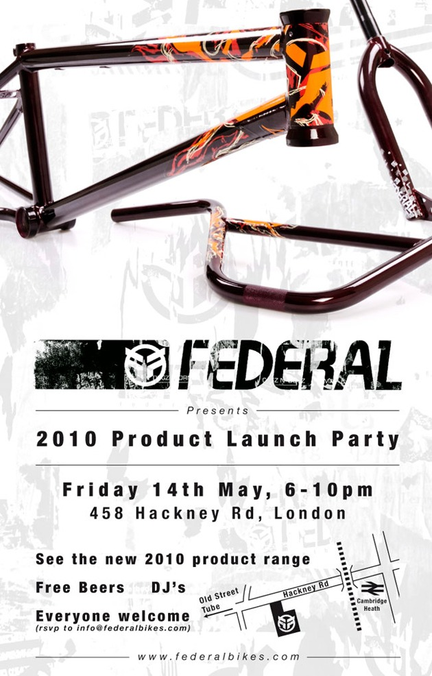 Federal Bikes Product Launch Party