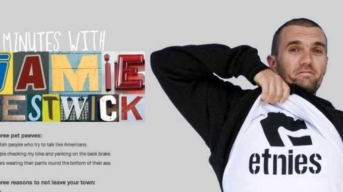 3 minutes with Jamie Bestwick