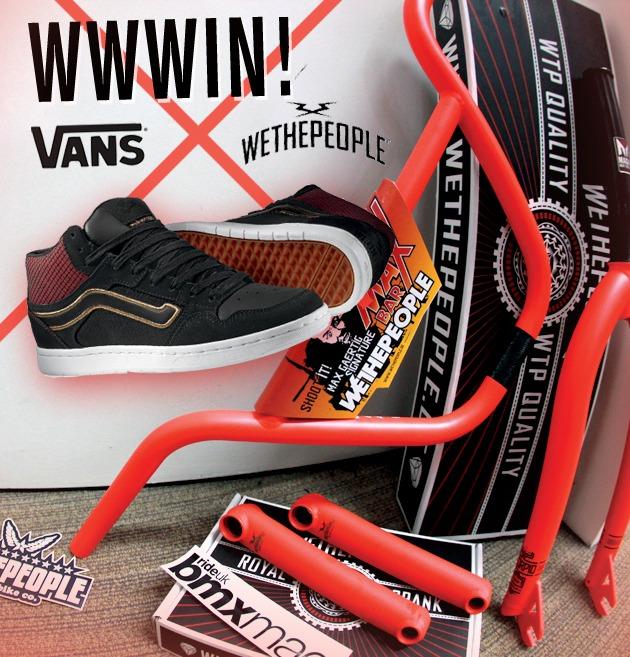 WWWIN! Vans X WTP shoes & parts