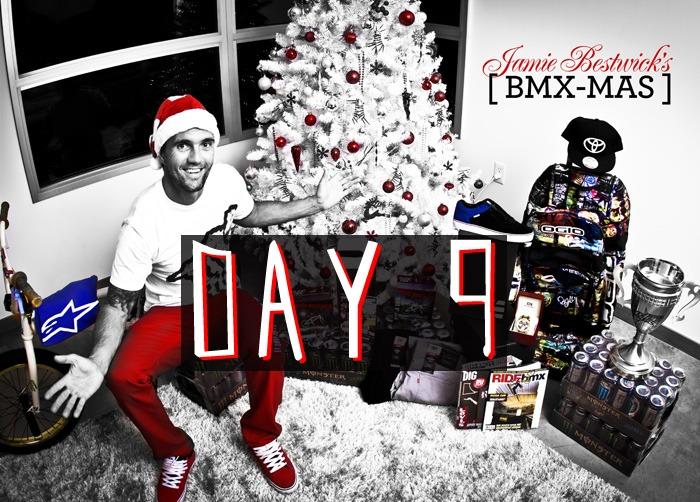 Jamie Bestwick's BMX-mas, Day 9 Giveaway