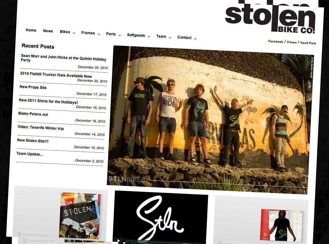 New Stolen Website.