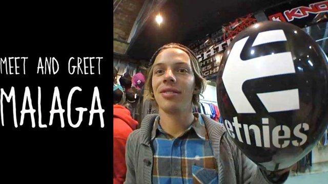 etnies Malaga Meet & Greet