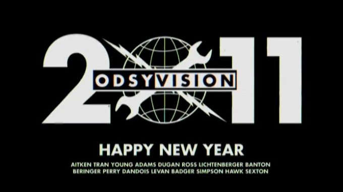 A Happy New Year from Odyssey BMX.