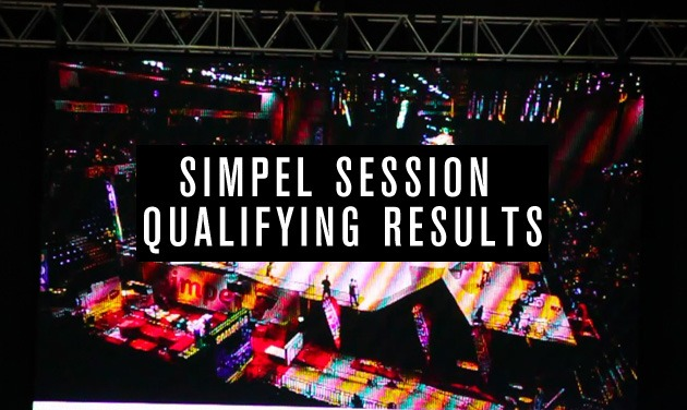 Simpel Session 11 Qualifying Results