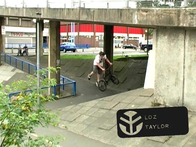 Federal BMX - Loz Taylor