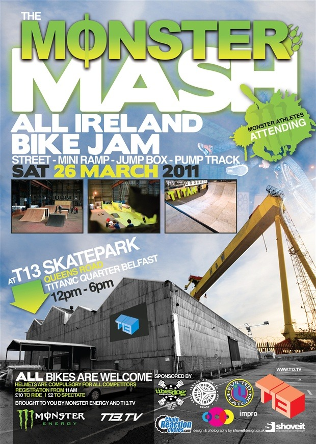 Monster Mash All Ireland Bike Jam