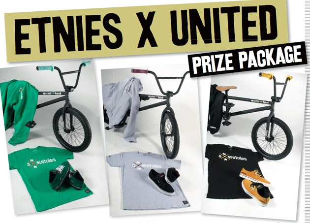 ENDED - For The Win: etnies x United Package