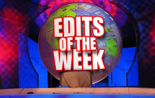Edits of The Week: Feb Week 1