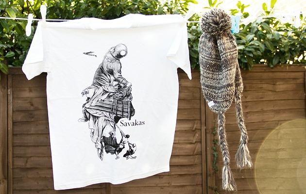 Friday Comp: Savakas T-shirt and Hat