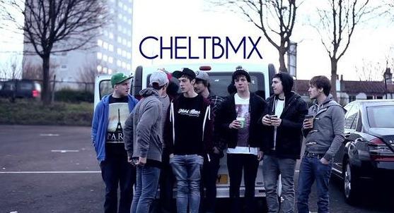 CheltBMX Visit Scotland 2012