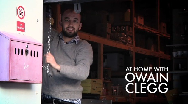 At Home With Owain Clegg