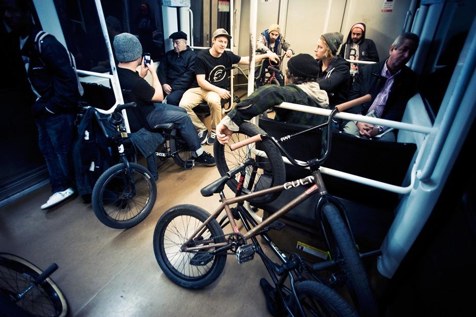 Metro life...