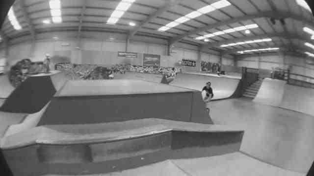 Alex Donnachie & Zander Rourke at Factory Skatepark